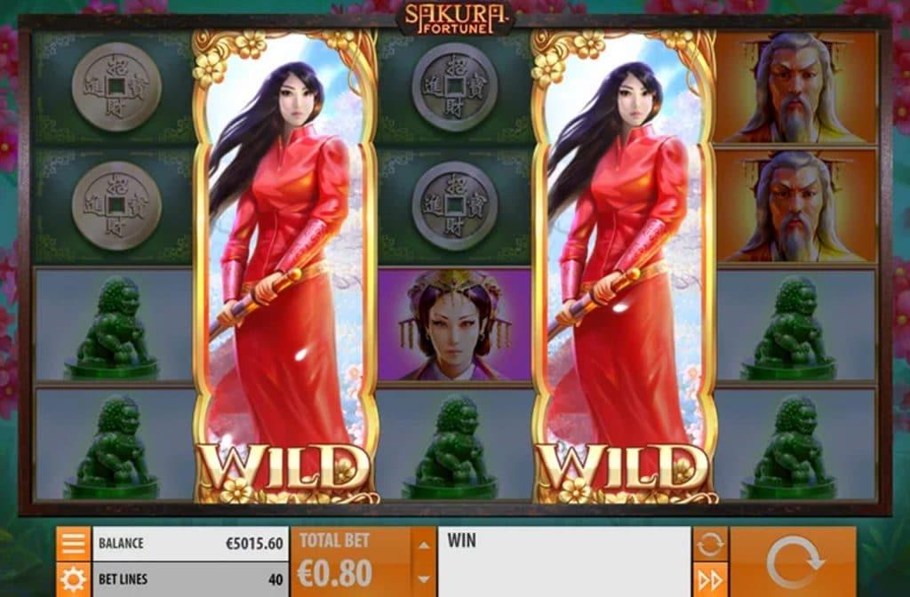 The Beautiful Heroine in Sakora Fortune