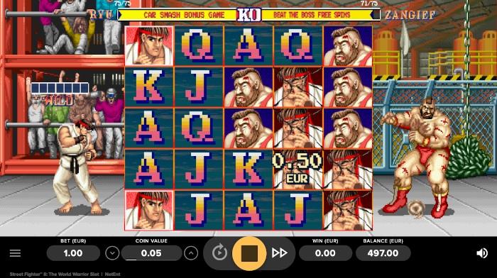 Street Fighter II Main Game