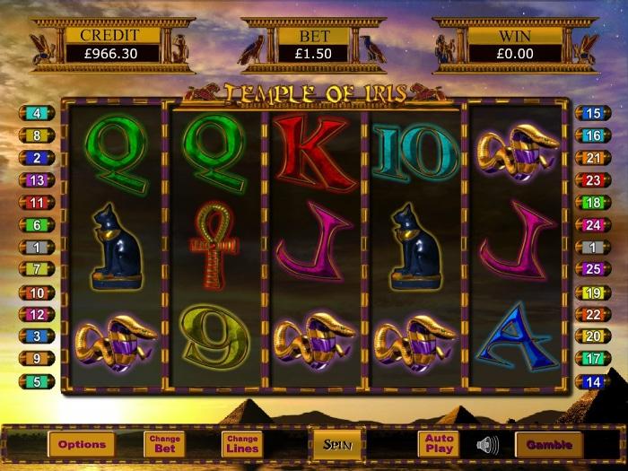 Temple of Iris main game