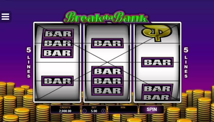 Break Da Bank is a Classic Slot