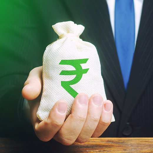 Indian Rupee payment method