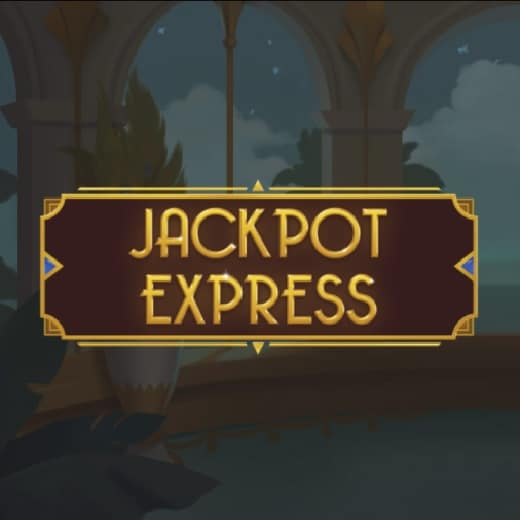 Hop on the Jackpot Express and win one of the three jackpot prizes!