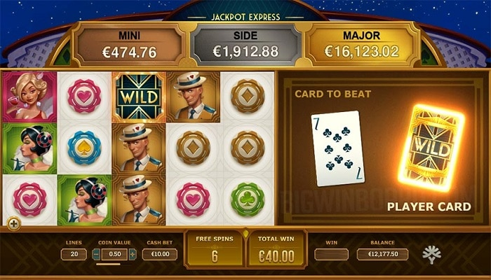 Jackpot Express is the newest progressive jackpot slot added to Yggdrasil's network.
