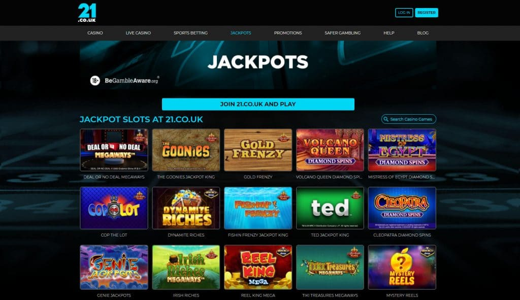 Lots of Jackpot Slots