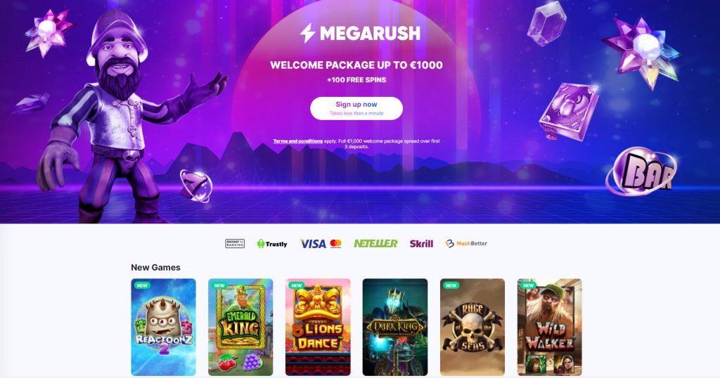 Megarush New Games