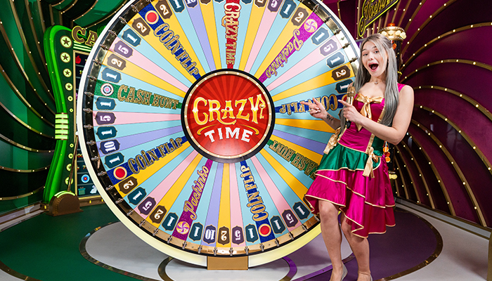 You Can PlayThe Popular Gameshow Crazy Time