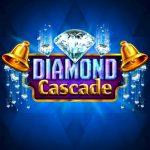 Diamond Cascade slot logo
