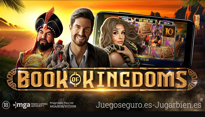 Book of Kingdoms the latest slot to be added to Pragmatic Play's growing portfolio.