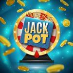 Game wheel with progressive jackpot