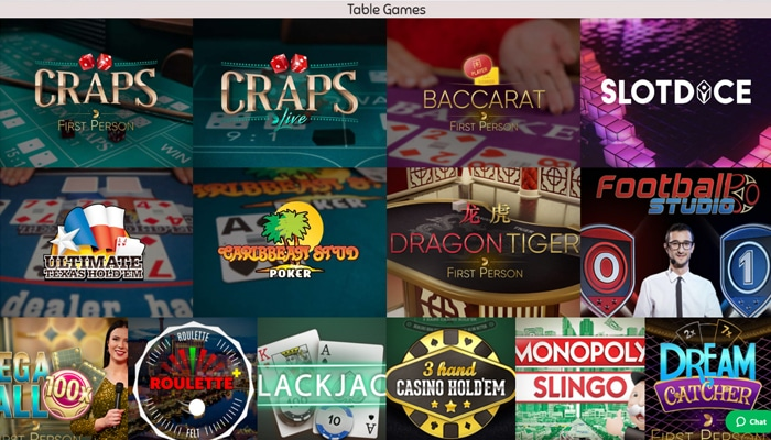 Great Table Games