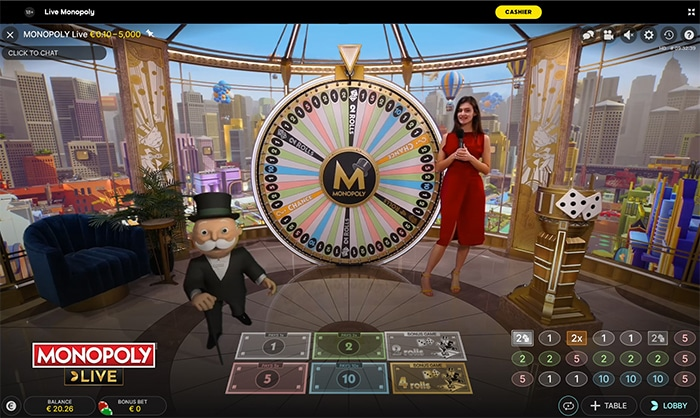 Monopoly Live game show