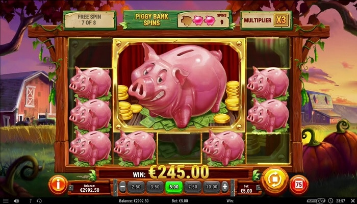 Play'n GO releases the last title for the year Piggy Bank Farm.