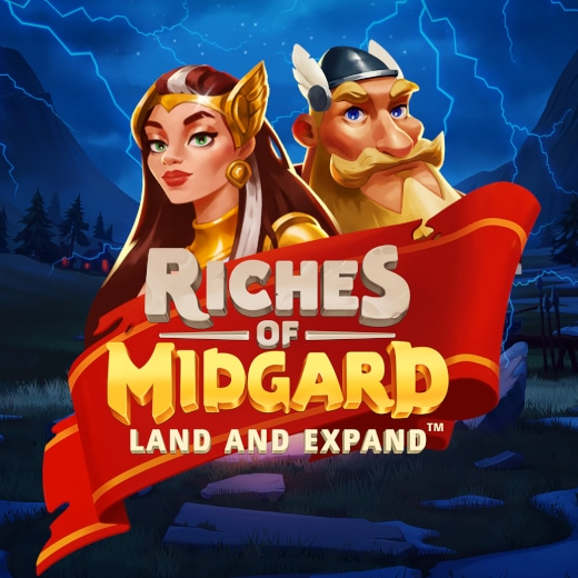 NetEnt video slot Riches of Midgard - Land and Expand