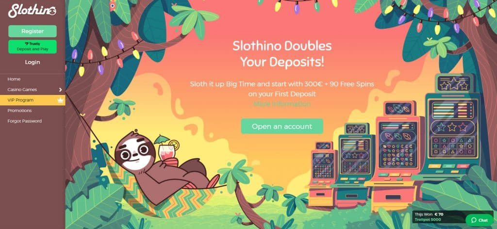 Slothino Casino is the Best New Kid in Town