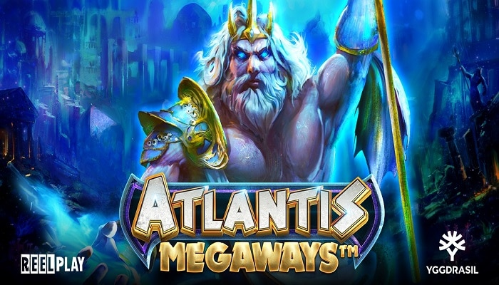 Atlantis Megaways™ released by Yggdrasil and its YG Masters studio ReelPlay.