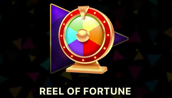 Reel of Fortune feature logo