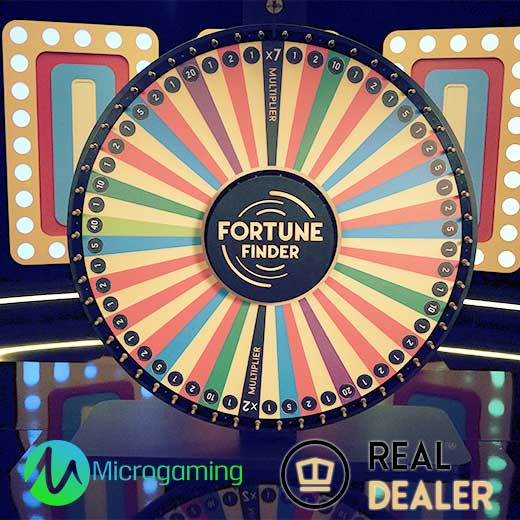 Fortune Finder Microgaming Real Dealer