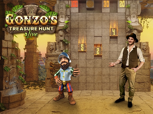 Gonzo's Treasure Hunt Live Evolution