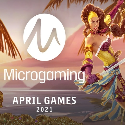 Microgaming to release plenty of new titles this April.