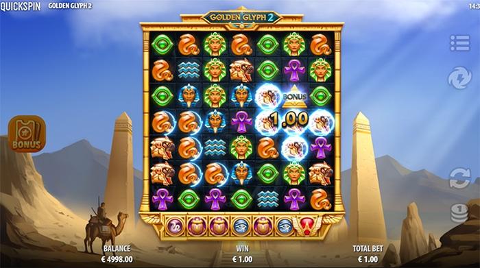 Golden Glyph 2 gameplay