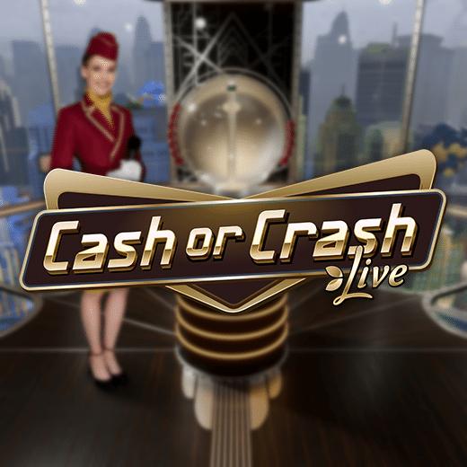 Cash or Crash game show logo
