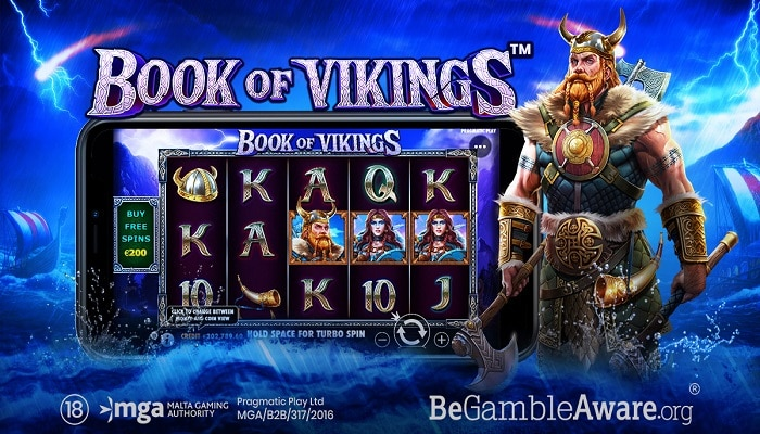 Pragmatic Play launches Book of Vikings, a Norse-inspired slot.