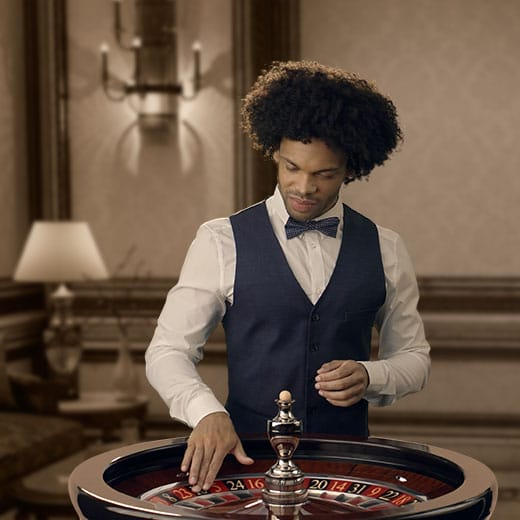 Microgaming Real Roulette with Dave