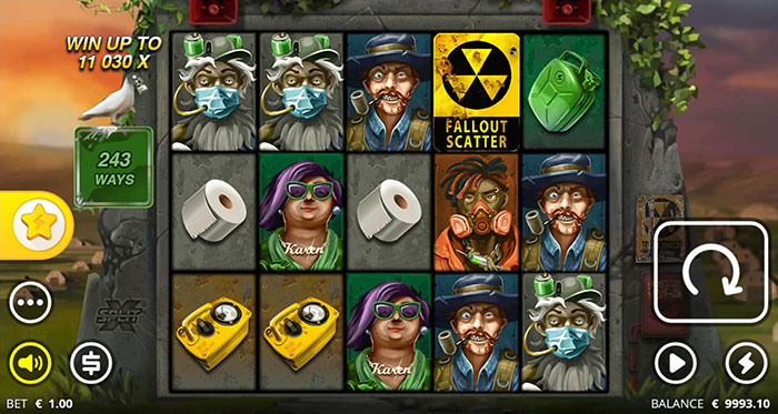 xWays Hoarder xSplit slot main game