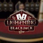 Evolution Lightning Blackjack live
