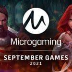 Microgaming presents 2021 September slot games