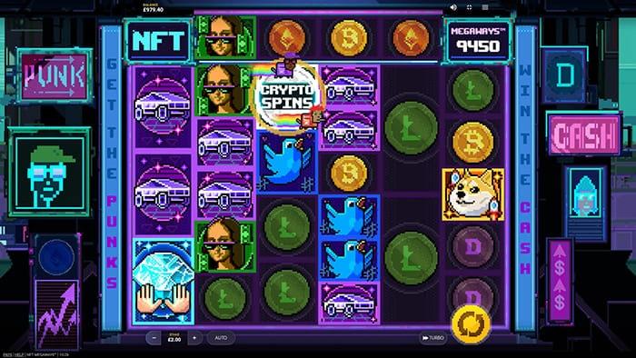 NFT Megaways base game