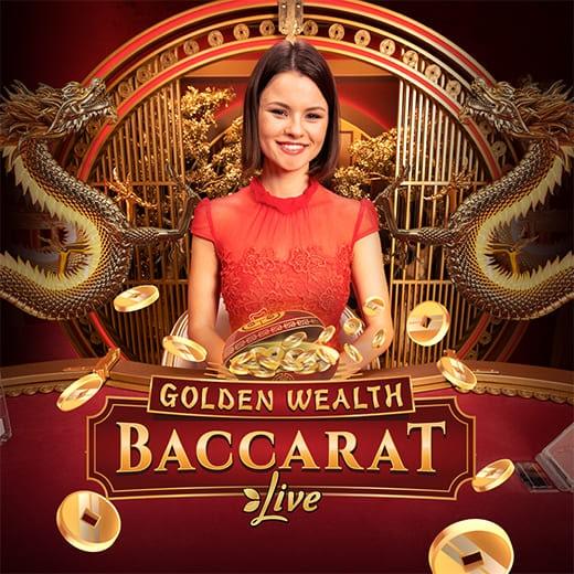 Golden Wealth Baccarat logo
